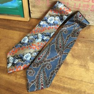 Christian Dior Silk Ties - Lot of two